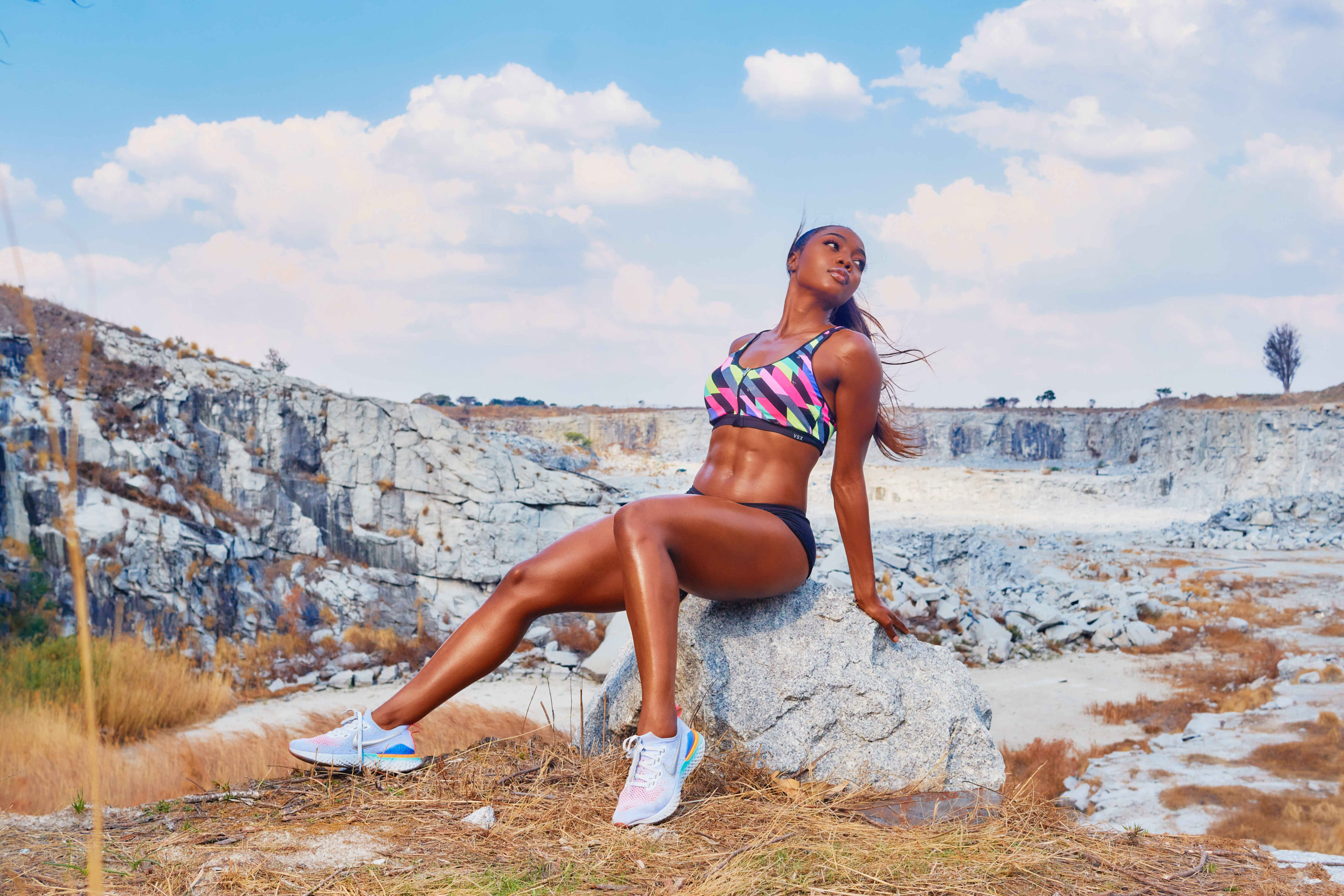 Michelina Chindiya, Zimbabwe's Go-To Wealth Specialist and Fitness Enthusiast
